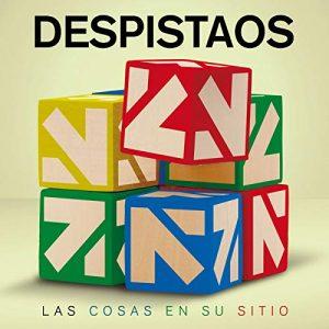 Portada del álbum de Despistaos: Las cosas en su sitio